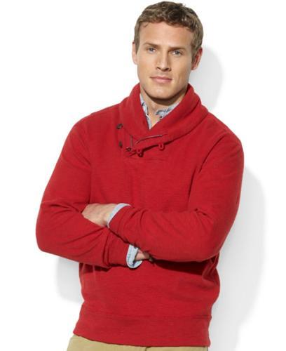 Polo Ralph Lauren Big and Tall Sweater, Shawl Collar