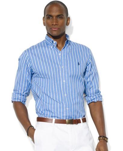 Polo Ralph Lauren Shirt, Classic-Fit Short-Sleeve