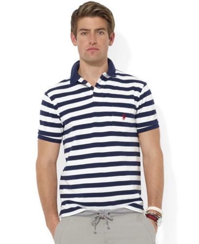 Polo Ralph Lauren Shirt, Custom-Fit Short-Sleeve
