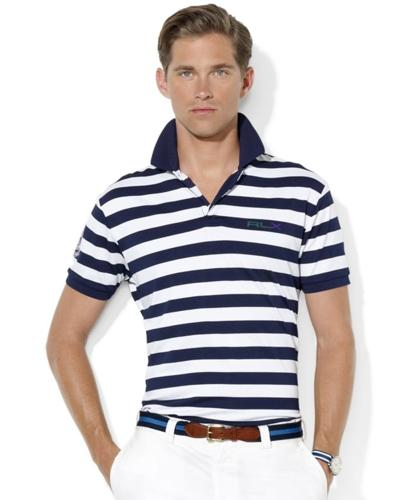Polo Ralph Lauren Shirt, RLX Wimbledon Short-Sleeved