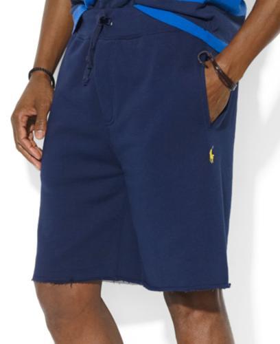 Polo Ralph Lauren Shorts, Beach Fleece Drawstring Shorts