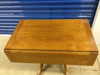 pompanette drop leaf high/low dinning coffee table