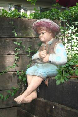 Pond Fishing Boy Statue For Sale In Hi Nella New Jersey