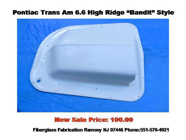 Pontiac trans am shaker hood scoop 6 6 bandit style for sale in