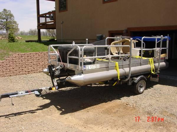 Pontoon boat trailer trolling motor for sale in pagosa for Minn kota trolling motors for pontoon boats