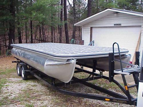 Used pontoon boat for sale in kansas il