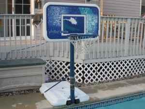 Pool side Basketball Hoop - $80 (Collegeville 19426)