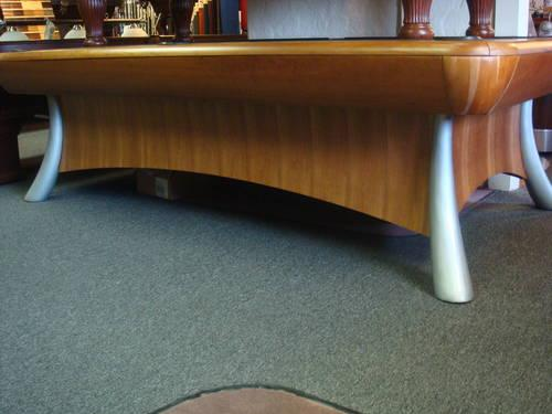 Pool Table 1 1 8 Quot Slate Top Cherry Finish For Sale In