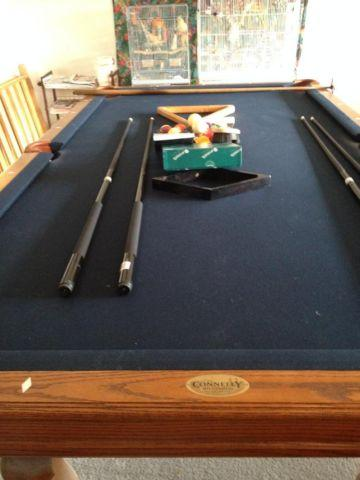 Pool Table Durango Model By Connelly For Sale In Maricopa - Connelly pool table disassembly