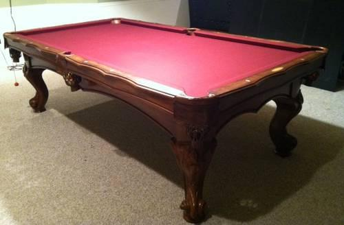 Pool Table Ft American Heritage Latigo Style For Sale In - American heritage pool table prices