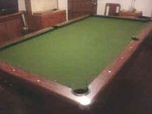 POOL TABLE 8 ft Slate - $275 (Beaver County)
