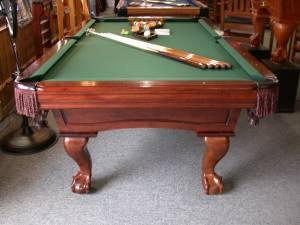 POOL TABLE - 8' - INSTALLED - $1295 (CHATTANOOGA)