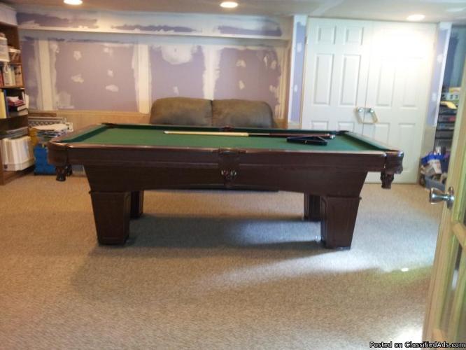Pool table 8ft brenham billiard table w bonus table tennis top for sale in frostburg maryland - Pool table table tennis ...