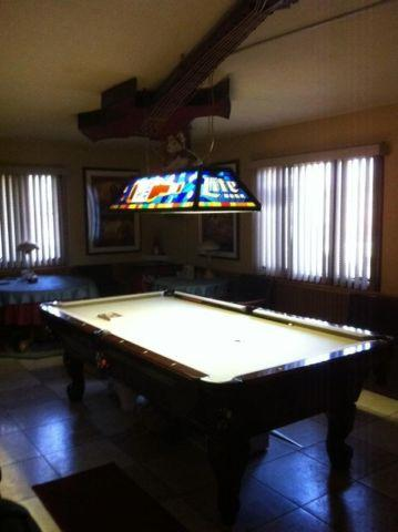 Pool Table Accessories Overhead Light For Sale In
