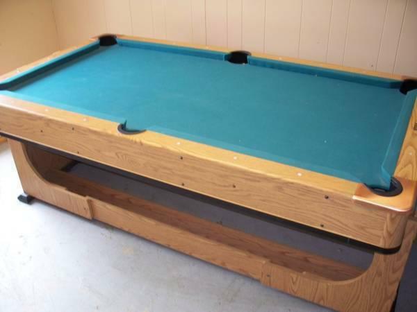 Pool Table U0026 Air Hockey Combo