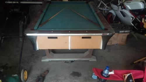 Foosball Table For Sale In Kansas Classifieds Buy And Sell In - Pool table movers wichita ks