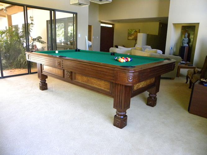 Pool Table For Sale In Honolulu Hawaii Classified AmericanListedcom - Thomas aaron pool table