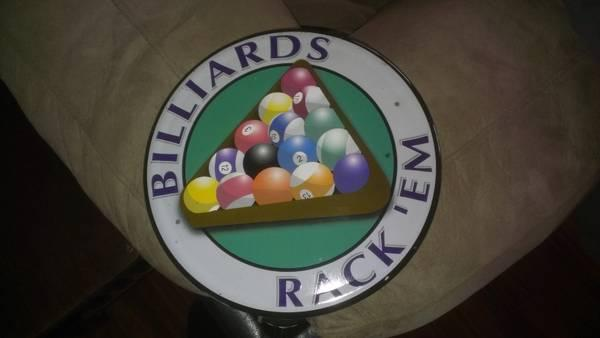 Pool TableBar Sign Pictures and Bar Lights