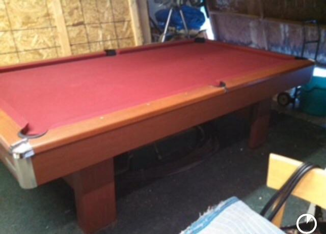 POOL TABLE BRUNSWICK CONTENDER For Sale In Newbury Park California - Pool table movers bakersfield ca