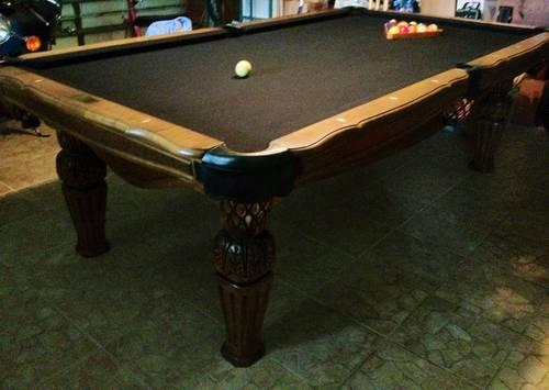 Pool Table By Beach Manufacturing For Sale In Jupiter