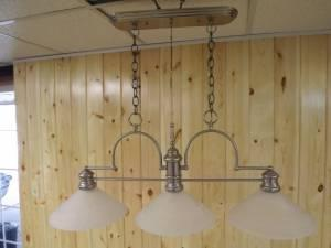 POOL TABLE HANGING LIGHT FIXTURE And Or SINGLE HANGING
