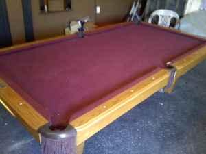 POOL TABLE IN REGULATION SIZE SLATE BAINBRIDGEGA For Sale In - Regulation size pool table prices