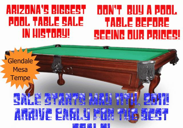 POOL TABLE MOVERSDIAMONDBACK BILLIARDSHUGE SALE AM - Huge pool table