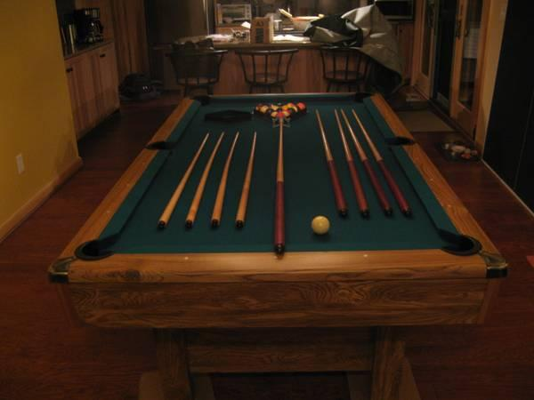 POOL TABLE-NEW BRUNSWICK - $1299
