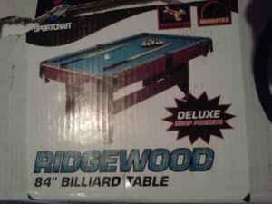 Ridgewood Pool Table Classifieds Buy Sell Ridgewood Pool - 84 pool table