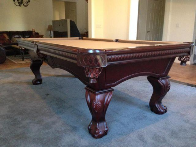 Pool Table New, Solid Wood, Lifetime Warranty, Slate