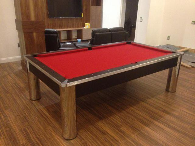 how to take apart a connelly pool table
