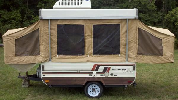 pop up camper for sale in hagerstown indiana classified. Black Bedroom Furniture Sets. Home Design Ideas