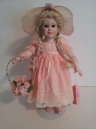 Porcelain Doll Quot Jennifer Quot By Patricia Rose For Paradise