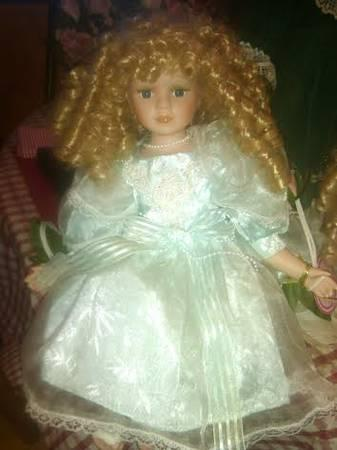 Porcelain Doll on the Move - $25