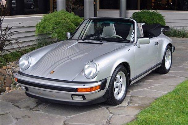 Porsche 911 Carrera Cabriolet Silver Anniversary Price