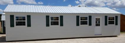 Portable Cabin Shell 16'x40' Storage shed