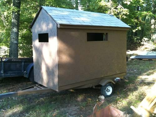 page ridge elevated oak box sale home ground blinds and for hunting