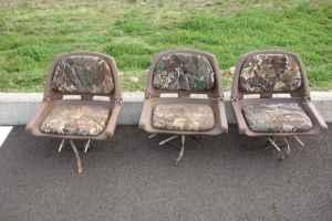 Portable Folding Boat Seats - $25 (Ausmville, Oregon)