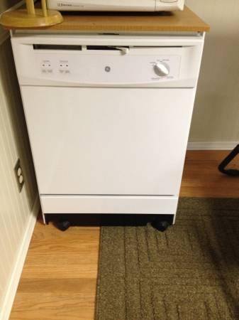 Portable GE Dishwasher - $250