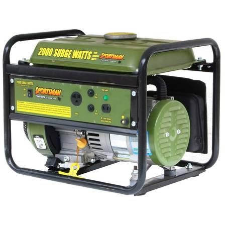 Portable Generator 2000 Watt 2.8hp - $200