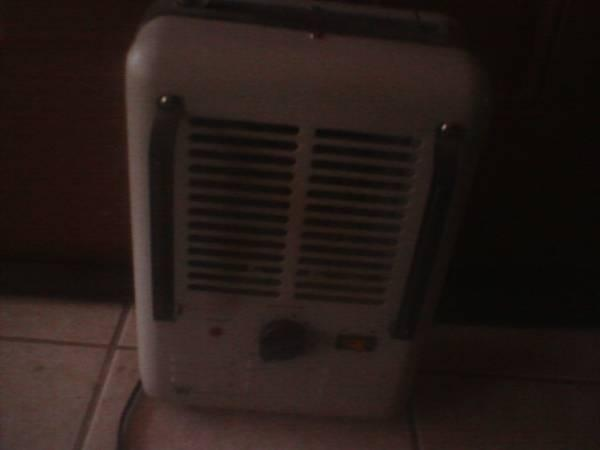 portable heater - $15
