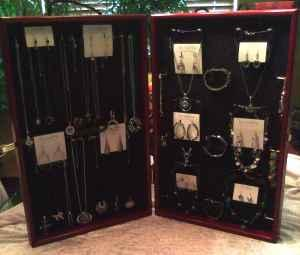 Portable Jewelry Display Cases Upland For In Kokomo