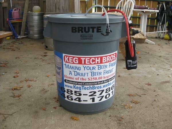 Portable Kegerator   NO MORE PUMPING For Sale In San Antonio, Texas