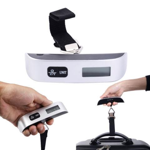 Portable LCD Digital Hanging Luggage Scale Electronic