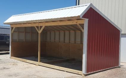 Portable Loafing Shed 12'x24' Horse Barn