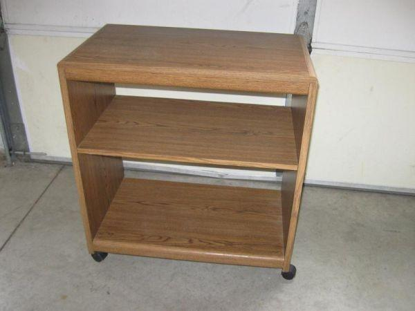 Portable Microwave Or Coffee Maker Toaster Cart Stand