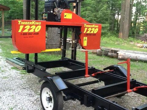 Saw Mill For Sale >> Portable Sawmill Timberking 1220 27hrs 7000 Edinboro Pa