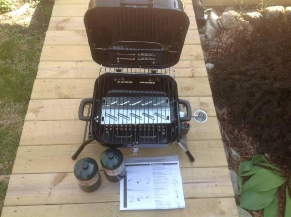 Portable Tabletop Gas Grill   $25