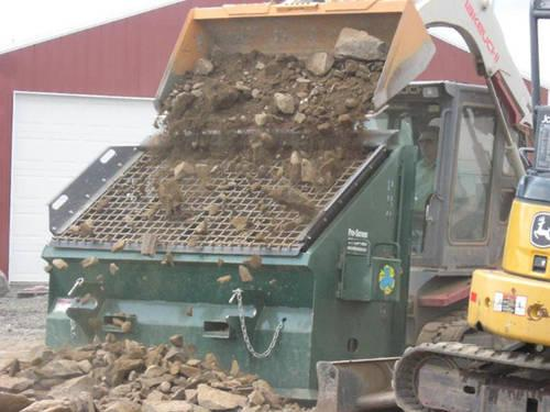 Portable Topsoil Screeners : Portable topsoil screeners for sale in chattaroy