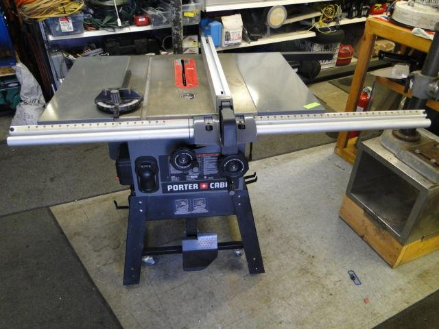 Porter Cable Pcb270ts 10 Quot Heavy Duty Table Saw Nice Shape